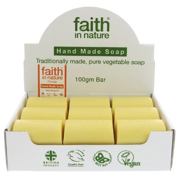 Faith in Nature Grapefruit Soap Bar
